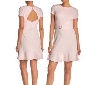 NWT Betsey Johnson Short Sleeve Heart Belted Dress